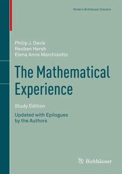 The Mathematical Experience, Study Edition (eBook, PDF) - Hersh, Reuben; Davis, Philip; Marchisotto, Elena Anne