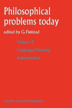 Language, Meaning, Interpretation (eBook, PDF)