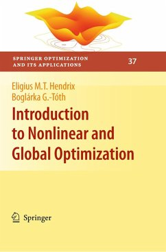 Introduction to Nonlinear and Global Optimization (eBook, PDF) - Hendrix, Eligius M. T.; G. -Tóth, Boglárka