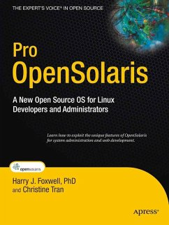 Pro OpenSolaris (eBook, PDF) - Foxwell, Harry; Tran, Hung