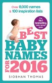 Best Baby Names for 2016 (eBook, ePUB)
