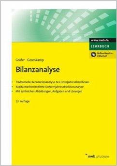 Bilanzanalyse - Gräfer, Horst; Gerenkamp, Thorsten