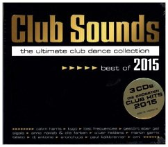 Club Sounds - Best Of 2015, 3 Audio-CDs - Diverse