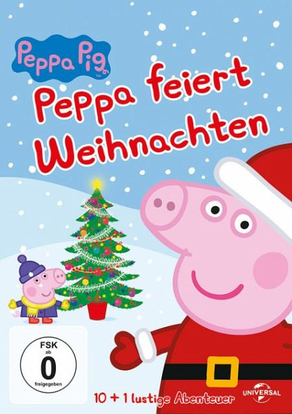 peppa pig peppa feiert weihnachten film auf dvd. Black Bedroom Furniture Sets. Home Design Ideas