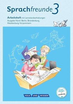 Sprachfreunde 3. Schuljahr. Arbeitsheft Schulausgangsschrift. Ausgabe Nord - Junghänel, Katrin; Kelch, Susanne; Knöfler, Andrea