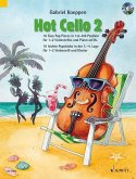 Hot Cello, für 1-2 Violoncelli (Klavier ad lib.), m. Audio-CD