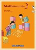Mathefreunde 3. Schuljahr. Schülerbuch mit Kartonbeilagen Süd.