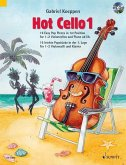 Hot Cello, für Violoncello (2. Violoncello und Klavier ad lib.), m. Audio-CD