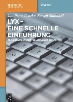 LyX - Eine schnelle Einführung