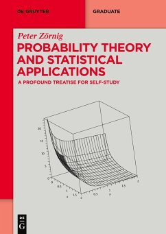 Probability Theory and Statistical Applications - Zörnig, Peter