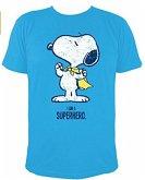 Peanuts Snoopy Superheld, T-Shirt, I AM A SUPERHERO, Größe L