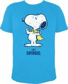 T-Shirt - Die Peanuts: Snoopy Superheld / I AM A SUPERHERO - Gr. S