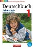 Deutschbuch Gymnasium Band 1: 5. Schuljahr - Bildungsplan 2016- Baden-Württemberg - Arbeitsheft mit Lösungen und interaktiven Übungen auf scook.de