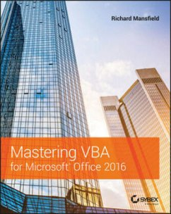 Mastering VBA for Microsoft Office 2016 - Mansfield, Richard