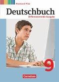 Deutschbuch 9. Schuljahr. Differenzierende Ausgabe Rheinland-Pfalz - Schülerbuch