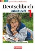 Deutschbuch Gymnasium Band 1: 5. Schuljahr - Bildungsplan 2016 - Baden-Württemberg - Arbeitsheft mit Lösungen