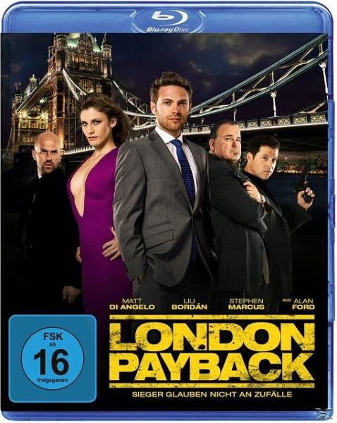 london payback sieger glauben nicht an zuf lle auf blu ray disc portofrei bei b. Black Bedroom Furniture Sets. Home Design Ideas