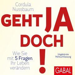 Geht ja doch! (MP3-Download) - Nussbaum, Cordula