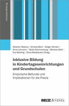 Inklusive Bildung in Kindertageseinrichtungen und Grundschulen (eBook, PDF)