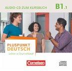 Audio-CD zum Kursbuch / Pluspunkt Deutsch - Leben in Deutschland Bd.B1/1, Tl.1