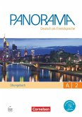 Panorama A2: Gesamtband - Übungsbuch DaF mit Audio-CDs