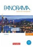 Panorama A2: Gesamtband - Kursbuch mit interaktiven Übungen auf scook.de