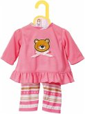Zapf Creation® 870075 - Dolly Moda Pyjama 43 cm, Schlafanzug