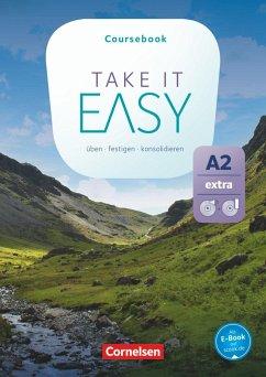 Take it Easy A2 Extra - Kursbuch mit Video-DVD und Audio-CD - Cornford, Annie; Eastwood, John
