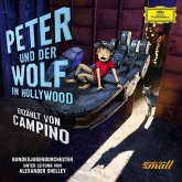 Peter und der Wolf in Hollywood, 1 Audio-CD (Deluxe Edt.)