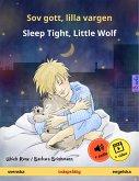 Sov gott, lilla vargen - Sleep Tight, Little Wolf (svenska - engelska) (eBook, ePUB)