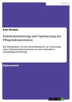 Entbürokratisierung und Optimierung der Pflegedokumentation (eBook, PDF)