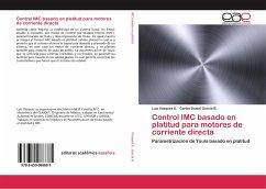 Control IMC basado en platitud para motores de corriente directa