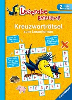 Kreuzworträtsel zum Lesenlernen (2. Lesestufe); . - Richter, Martine