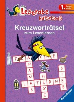 Kreuzworträtsel zum Lesenlernen (1. Lesestufe), lila - Richter, Martine