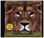Finde dein Krafttier, 1 Audio-CD