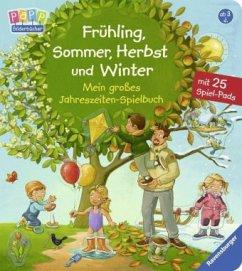 Frühling, Sommer, Herbst und Winter - Mein großes Jahreszeiten-Spielbuch (Restexemplar) - Nahrgang, Frauke
