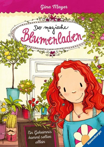 ein geheimnis kommt selten allein der magische blumenladen bd 1 von gina mayer buch. Black Bedroom Furniture Sets. Home Design Ideas