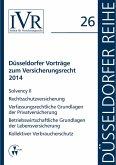 Düsseldorfer Vorträge zum Versicherungsrecht 2014 (eBook, PDF)