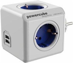 allocacoc PowerCube Original USB blau Type F für Extended Cubes
