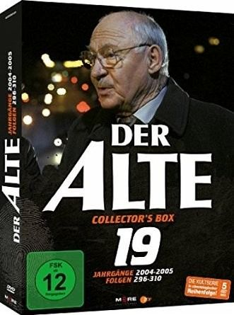 der alte collector 39 s box vol 19 folgen 296 310 5 discs film auf dvd. Black Bedroom Furniture Sets. Home Design Ideas