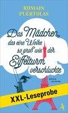 XXL-LESEPROBE: Puértolas - Das Mädchen, das eine Wolke so groß wie der Eiffelturm verschluckte (eBook, ePUB)