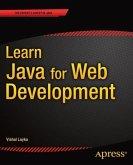 Learn Java for Web Development (eBook, PDF)