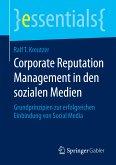 Corporate Reputation Management in den sozialen Medien (eBook, PDF)