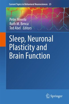 Sleep, Neuronal Plasticity and Brain Function (eBook, PDF)