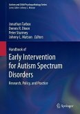 Handbook of Early Intervention for Autism Spectrum Disorders (eBook, PDF)