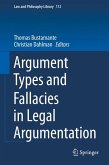 Argument Types and Fallacies in Legal Argumentation (eBook, PDF)