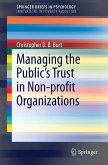Managing the Public's Trust in Non-profit Organizations (eBook, PDF)