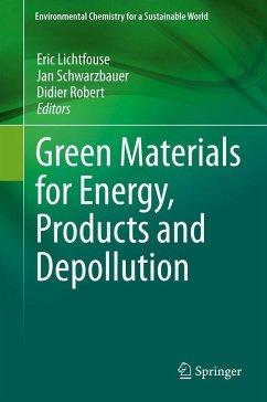 Green Materials for Energy, Products and Depollution (eBook, PDF)