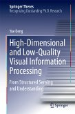 High-Dimensional and Low-Quality Visual Information Processing (eBook, PDF)