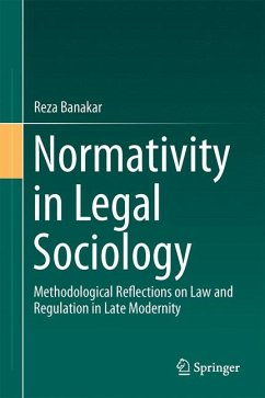 Normativity in Legal Sociology (eBook, PDF) - Banakar, Reza